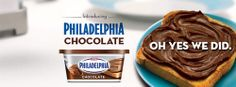 A Dream Breakfast in Bed with Chocolate Philly