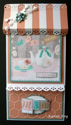 for Crafter's Companion - Camden Town Boutique Card Products used: Camden Town CD (Female) Core'dinations Card Stock Centura Pearl Card (Snow White Hint of Gold) Scallop punch or edge die Oval die or punch Collall Glue Gel Collall All Purpose Stickles Glitter Glue Gems, flowers, etc for embellishment.