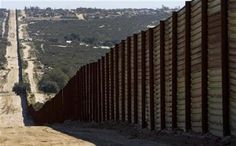 The metal border fence stretches across a valley separating the US and Mexico, near Campo, California on March 17, 2008. Description from reuters.com. I searched for this on bing.com/images