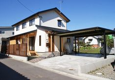 Japanese House, Arch, Garage, Homes, Mansions, House Styles, Inspiration, Home Decor, Houses