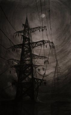 Vergvoktre's Dark Art Make You Feel Like Staring Into The Abyss Creepy Drawings, Dark Art Drawings, Beautiful Drawings, Arte Horror, Horror Art, Horror Drawing, Dark Fantasy Art, Arte Black, Creepy Images