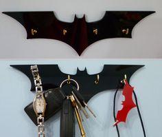 Batman Key Rack / Jewellery Organiser by 2D23D on Etsy, £10.99