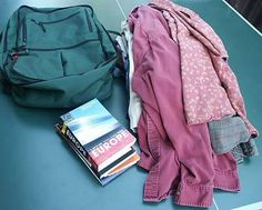 Lightweight packing for travel economic travel in Europe