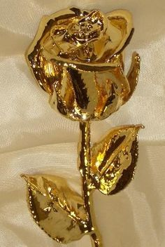 "Gold Dipped Rose 12"" 24K Venus"