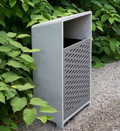 BEVEL Receptacle SL | SITU Urban Elements. Love this side loading design
