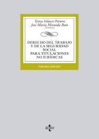 Derecho del trabajo y de la Seguridad Social para titulaciones no jurídicas Tecnos, 2013