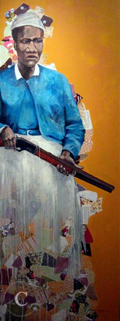 Mary's Gun - Shanequa Gay. Mary Fields was the first African American woman and the second woman to be employed as a mail carrier with the United States Postal Service. Mary was hired because she was able to hitch a team of six horses to a Stagecoach faster than any other applicant.