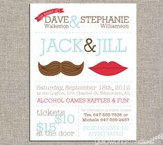 Jack & Jill Tickets - Mr and Mrs -
