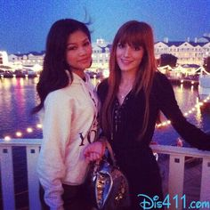 Bella Thorne And Zendaya these two inspire me to do what I do