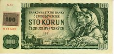 Money from previous Czechoslovakia - Money Notes, My Roots, European History, Bratislava, My Heritage, Czech Republic, Growing Up, Vintage World Maps, The 100