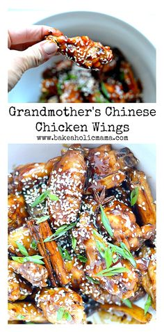 Grandmother's Chinese Chicken Wings