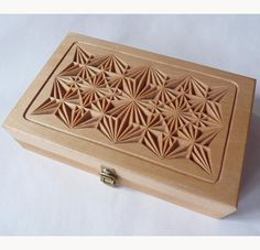 Knife Box- My Chip Carving- Chip Carving Lessons, Knives, Patterns- - Basswood Boxes- - My Chip Carving, lessons, patterns, basswood boxes, ...