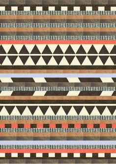DG Aztec No.1 Art Print {found via street etiquette at http://inspiration.streetetiquette.com/post/23896538089}