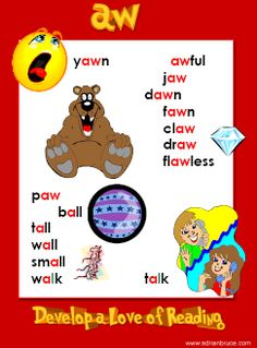 1000+ images about 'Aw' sound on Pinterest | Activities, Vowel ...
