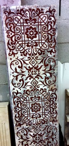 Mosaico panel de Fiori di pesco y rojo Rupasse