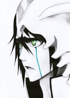 Ulquiorra Schiffer by Shinigami, Anime Bleach, Bleach Fanart, Bleach Characters, Manga Characters, Manga Anime, Manga Art, Awesome Anime, Anime Love