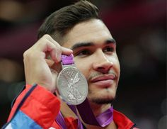All the best pictures of British artistic gymnast Louis Smith