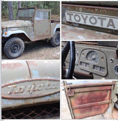 1958 FJ28 Toyota Landcruiser! WoW! Survivor FJ40