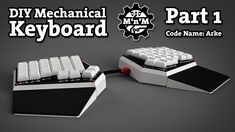 P4: Fully DIY Mechanical Keyboard (Code name: Arke)| Plate & Parts | Part 1