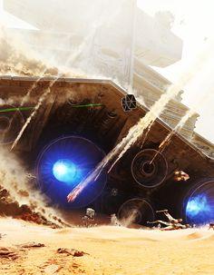 Star Wars - The Battle of Jakku