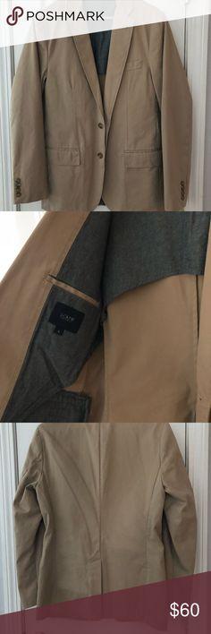NWOT J. Crew Men's Ludlow khaki cotton blazer Never worn! Men's J. Crew cotton blazer in a tan/khaki color. J. Crew Suits & Blazers Sport Coats & Blazers