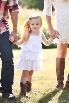 Family pictures - girl - boots - country