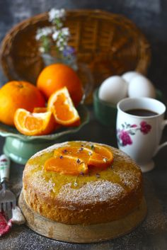 Tea-Time Orange Cake is an easy, simple, fruity cake recipe. We are surely in love with this recipe. funfoodfrolic.com