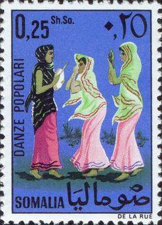 Somalia - Folk dancers