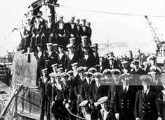The crew of the British S-Class submarine HMS Splendid Get premium, high resolution news photos at Getty Images Royal Navy Submarine, S Class, Submarines, Still Image, Warfare, British, Ships