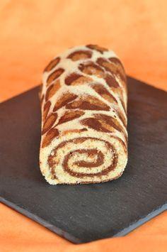 gâteau roulé à la confiture - recetteshanane (pâtisserie