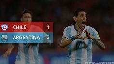 Angel Di Maria and Gabriel Mercado scored the goals to give Argentina a vital second victory on the road to World Cup 2018 in Russia. Chile, World Cup Qualifiers, International Football, World Cup 2018, Gabriel, Victorious, Russia, Competition, Goals