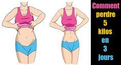 perdre 5 kilos en 3 jours