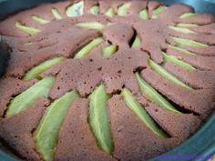 შოკოლადის და კივის ნამცხვარი  Schoko-Kiwi Kuchen