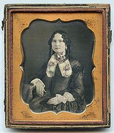1 6 Plate Daguerreotype Portrait of A Beautiful Young Woman | eBay