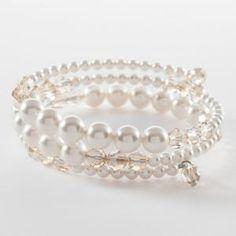 Pearl Wrap Bracelete - Touchstone Crystal by Swarovksi - Brian C Grenier, Consultant