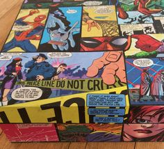 Spiderman comic decoupaged wooden letter / photo / by ComicCulture