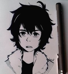 linlin-sketchbook: Nico Di Angelo, little antisocial baby I love him so much!
