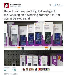 27 Hilarious Tweets About Weddings That'll Make You Laugh Every Time