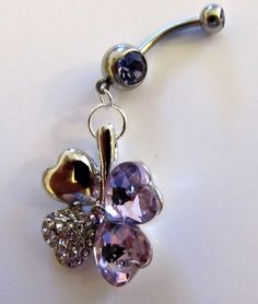 Cool belly button ring