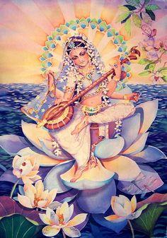 богиня сарасвати - Поиск в Google