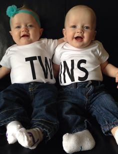 Got these new shirts for my twins and I LOVE them!!