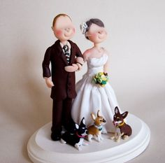 Unique Wedding Cake Toppers | Wedding Cake Topper - Custom made by little people, Wedding Items