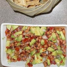Texas Caviar with Avocado More