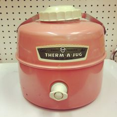 Vintage thermos!