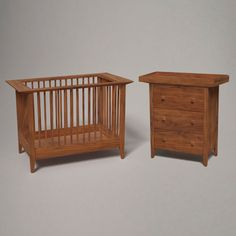 This beautiful crib has beautiful wood grains which any baby could easily slumber in!