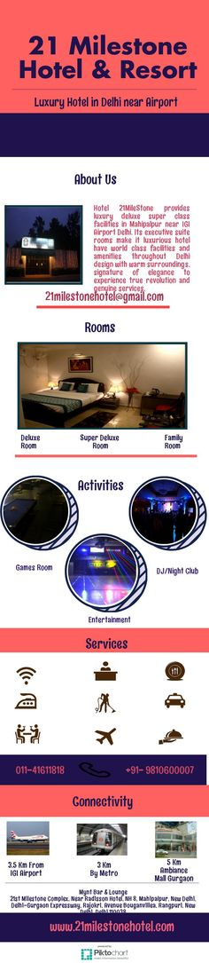 21Milestone Resorts offering online reservations for family hotel rooms in Delhi near igi airport with lots of amenities like Colour television, laundry service, air-conditioning and more.