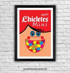 Poster Mini Chicletes Original