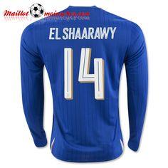 2016 Italy Soccer Team EL SHAARAWY Long Sleeve Home Jersey e82bbd73e