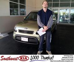 Veronica and Albert were very helpful, kind and courteous. They showed excellent knowledge of the cars that I wanted and made the whole process smooth and comfortable. Albert went above and beyond explaining the benefits of owning a Kia. Overall was a very enjoyable experiance. Hope to see them again and be blessed with their dedication to service. - Michael Hall, Wednesday, October 23, 2013 http://www.southwestkia-mesquite.com/?utm_source=Flickr&utm_medium=DMaxx&utm_campaign=DeliveryMaxx