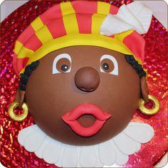 Boltaart Sinterklaas Piet Cake Cookies, Cupcakes, Bake My Cake, Saint Nicolas, Marzipan, Party Snacks, Cake Designs, Cakepops, Cake Recipes
